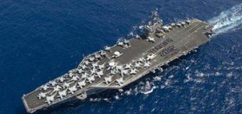 Северная Корея грозится потопить авианосец «Карл Винсон» одним ударом