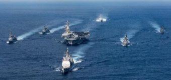 Авианосная группа ВМС США вошла в Японское море