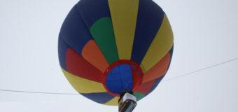 В Турции упал воздушный шар с туристами