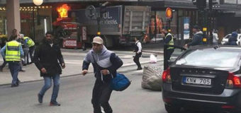 Полиция опубликовала фотографию подозреваемого в шведском теракте. Фото