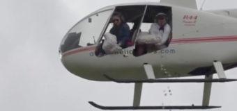 В США с вертолета сбросили пять тысяч пасхальных яиц. Фото