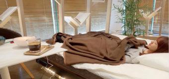 В Японии появилось кафе с зоной для сна