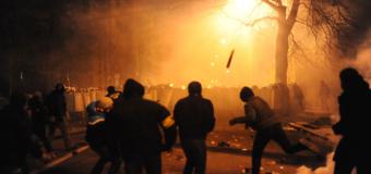 В Швеции десятки неизвестных атаковали полицейский патруль