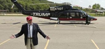 Трамп нарушил «правило президентов», продемонстрировав свой вертолет