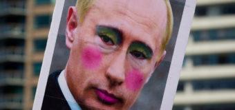 В России запретили показывать Путина с макияжем