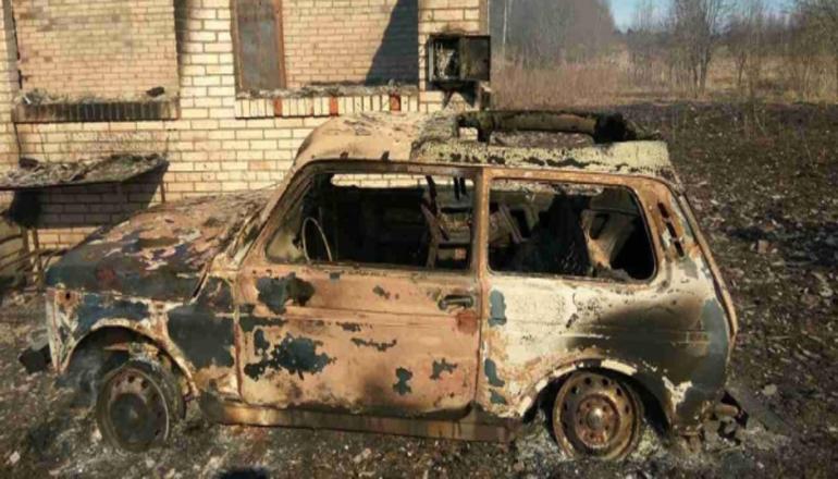 Петербуржец сжег целую деревню, решив, что там база террористов. Фото
