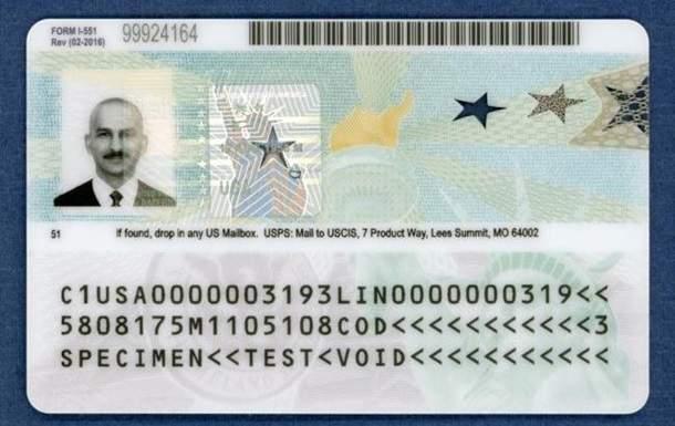 В США ввели новые грин-карты