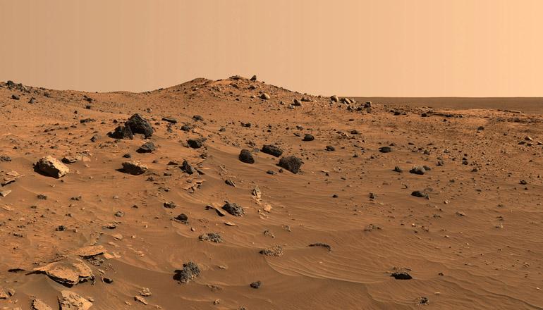 Ученые разглядели на Марсе «череп и кости»
