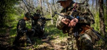 Штаб: Позиции ВСУ обстреляли, есть потери недалеко от села Луганское