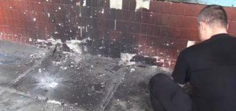 В Киеве возле офиса Нацкорпуса произошел взрыв. Видео