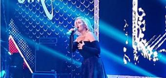 Полина Гагарина вышла из декрета и зажгла на сцене. Видео