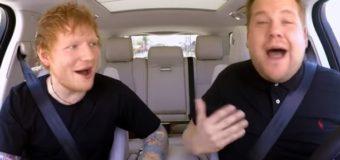 Хит Сети: Эд Ширан снялся в караоке-шоу. Видео