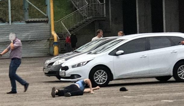Задержание террористов ИГИЛ в Харькове. Видео