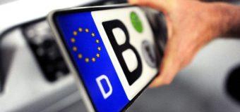 Власть планирует закрыть границу для машин с еврономерами. Видео