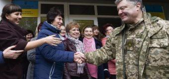 Порошенко: Я все делаю для того, чтобы миротворцы были на Донбассе