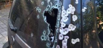 В Запорожье расстреляли внедорожник