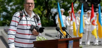 В Одессе умер военный фотокорреспондент. Фото