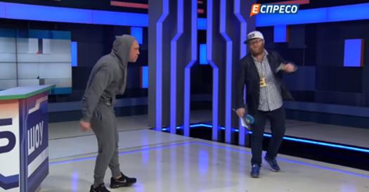 Экс-советник Авакова поучаствовал в рэп-баттле. Видео