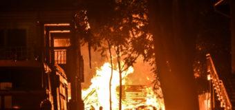Названа причина пожара в одесском детском лагере «Виктория»