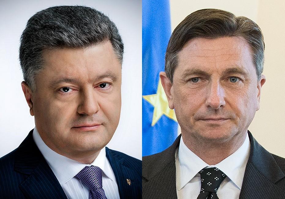 Порошенко поздравил президента Словении с убедительной победой на выборах