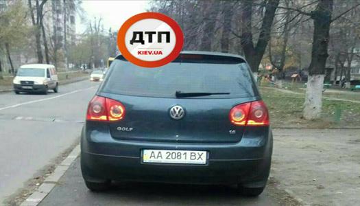 В Киеве «автохам» избил прохожего