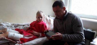 9-летняя Вика из Николаевской области, которую подстрелил охотник, вышла из комы