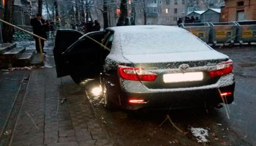 В Харькове подорвали автомобиль майора уголовного розыска. Видео