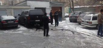 В Харькове подорвали автомобиль одиозного полицейского. Фото