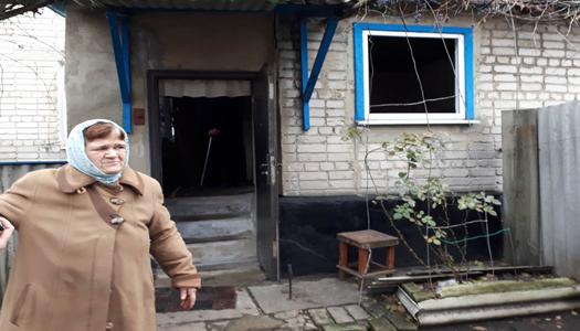 На Луганщине боевики обстреляли села с мирными жителями