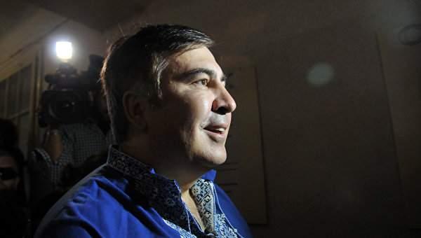 Михаил Саакашвили 2,5 часа давал показания СБУ