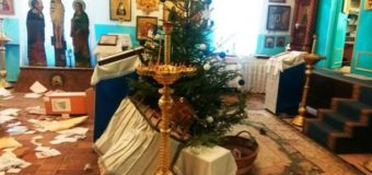 На Одесчине неизвестные ограбили и разгромили храм. Фото. Видео