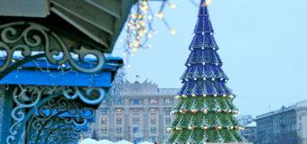 Харьковская елка признана самой высокой в Украине