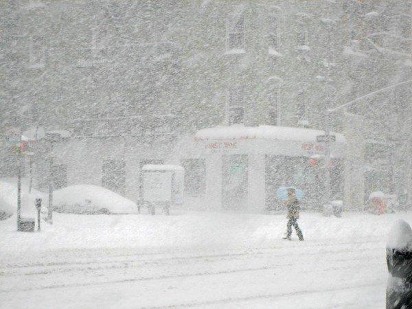 В Одессе готовятся к снежной буре
