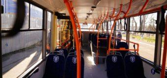 В Одессе взорвался троллейбус. Видео
