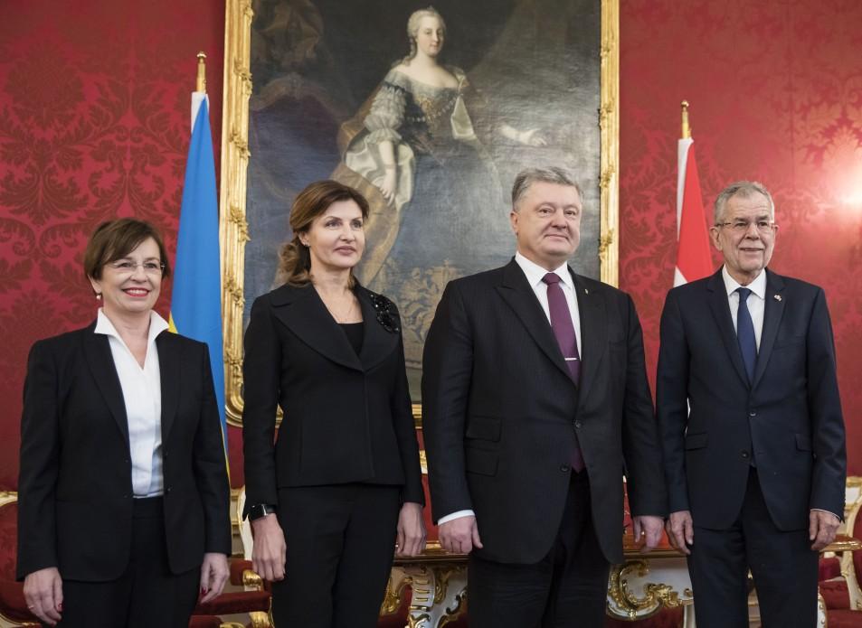 Порошенко призвал Австрию признать Голодомор актом геноцида