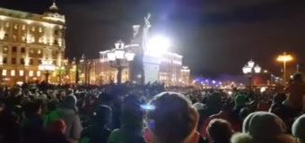 После трагедии в Кемерово тысячи россиян в Москве требуют отставки Путина. Видео
