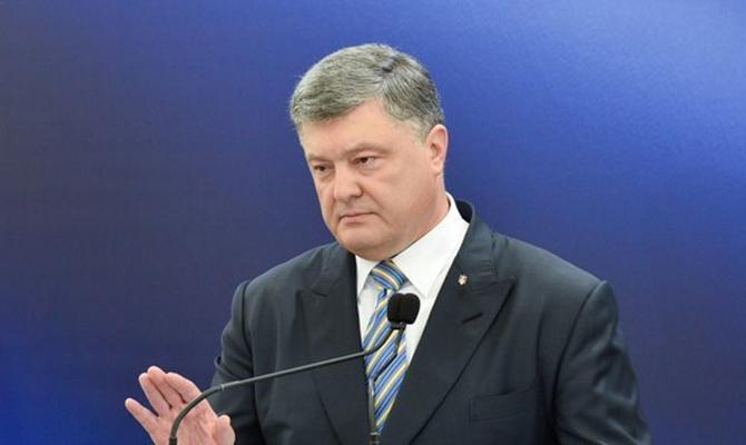Петро Порошенко написав президенту Євроради щодо санкцій проти Росії