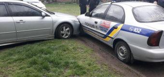 В Запорожье полиция устроила погоню за водителем, который сбил трех женщин