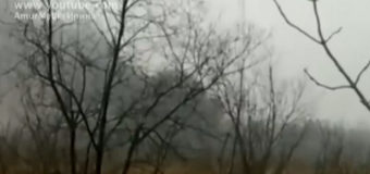 В Хабаровске рухнул вертолет, экипаж погиб. Видео