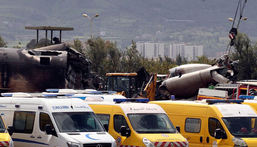 В авиакатастрофе в Алжире погибли 257 человек