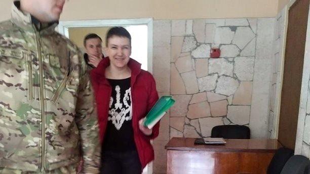 Надежда Савченко побывала на психиатрической экспертизе