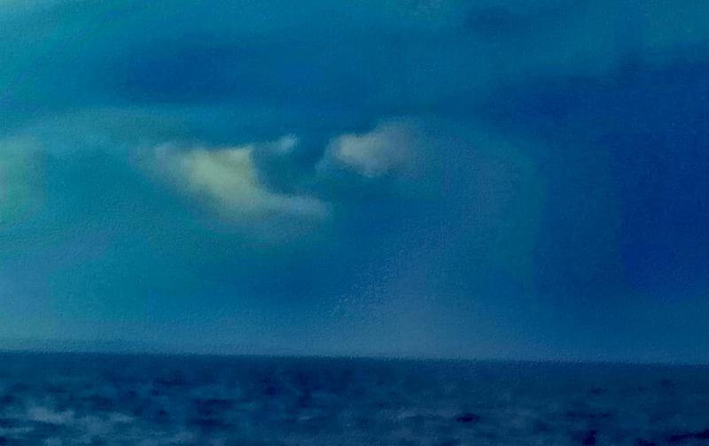 В Одессе заметили на небе Всевидящее око. Фотофакт