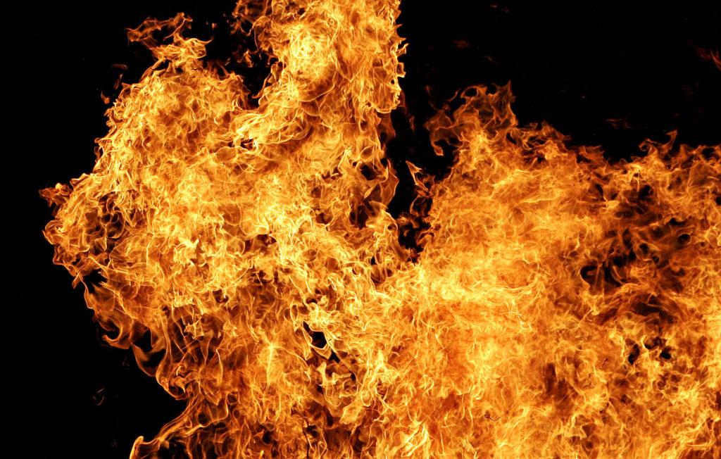 Женщина сгорела в авто под Николаевом