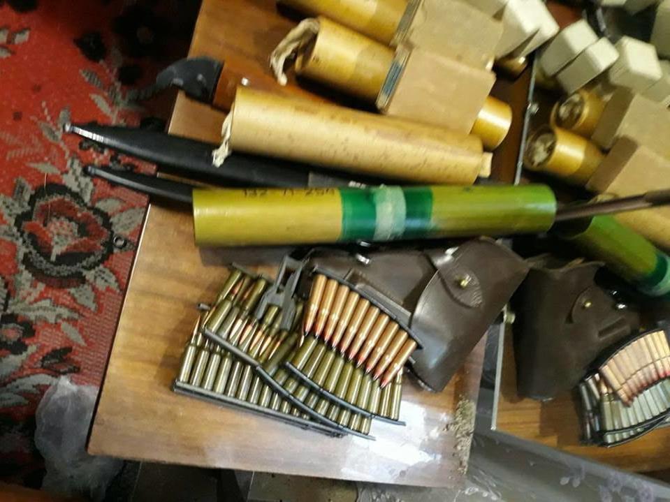 В Украине у военного пенсионера изъяли 22 гранатомета
