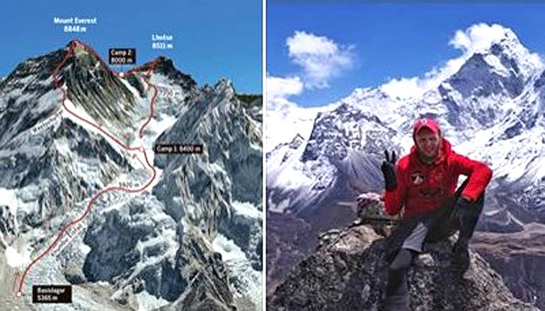 Двое украинских альпинистов застряли на Эвересте