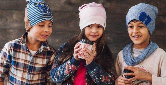 Виды детских шапок