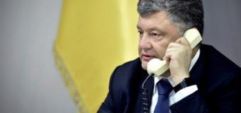 Порошенко позвонил Путину: о чем говорили