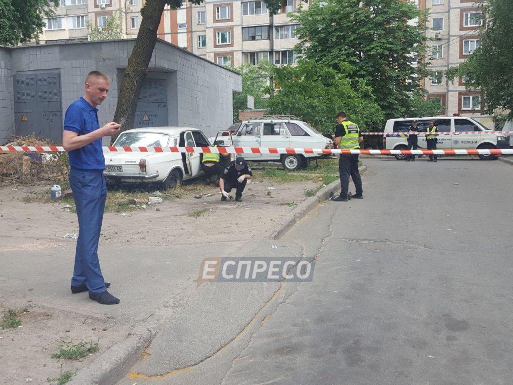 От взрыва в Киеве пострадали 4 ребенка