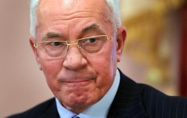 Николаю Азарову отказали в украинской пенсии