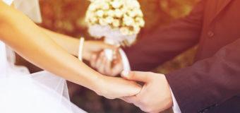 14 февраля в Украине поженились почти 2,5 тыс. пар